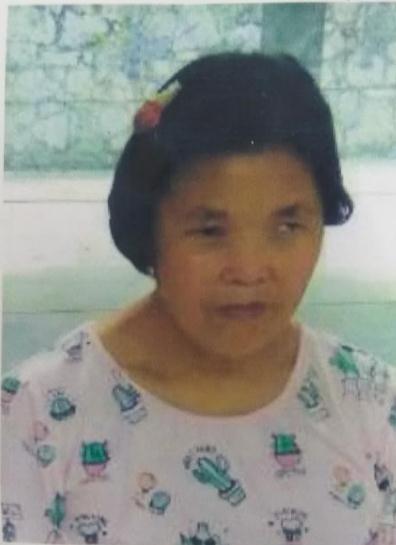 寻找聋哑人田杏华,家住武汉市江夏区,于2017年7月18失踪