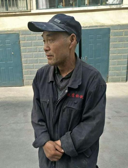 寻找山东老人于亦忠 2018年1月12日淄博市张店区昌国路走失