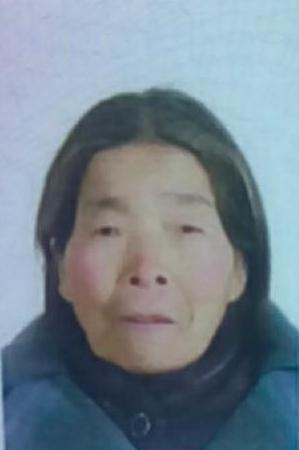 寻找渭南老人魏珍珍 2018年1月26日富平县淡村镇走失