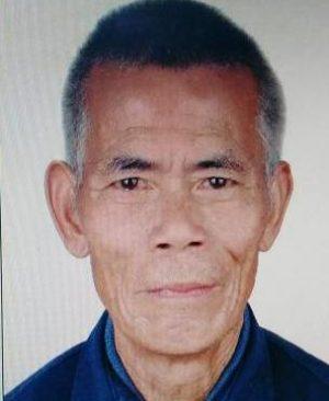 寻找河源老人李建林 2018年1月27日连平县隆街镇走失