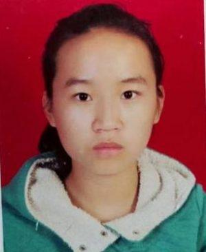 寻找西安女孩赵莹娟 2018年2月27日莲湖区红光路走失