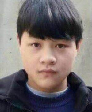 寻找安徽男孩吕鹏辉 2018-06-25 阜阳市颍上县走失