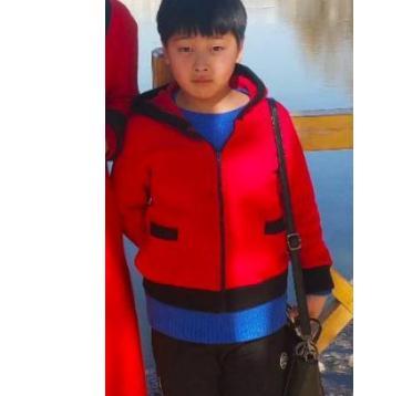 宁夏11岁男孩于2018.11.9失联,当天放学后至今未归,穿黄灰色相间的校服,抱着一个外套