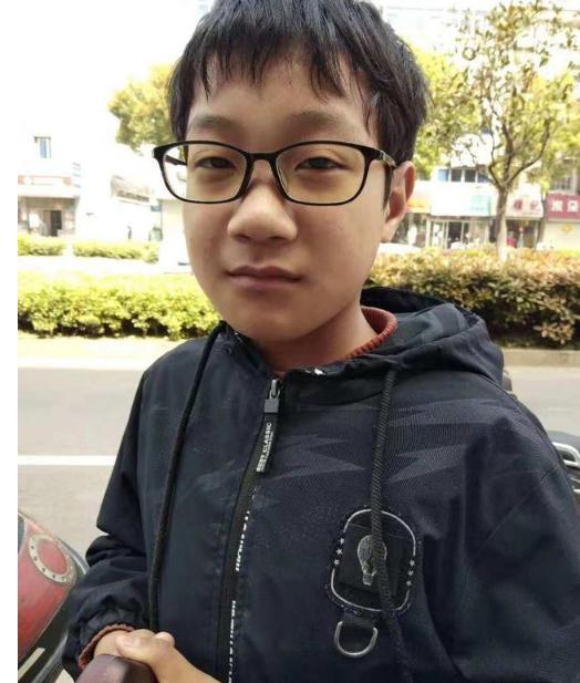 寻找:13岁男孩从镇江坐高铁到北京后失联,穿白衣黑裤,望您留意